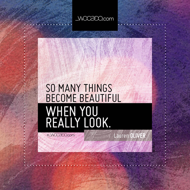 So many things become beautiful by WOCADO.com