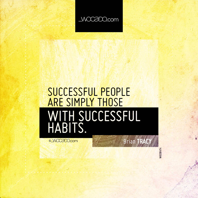 Successful people are simply those by WOCADO.com
