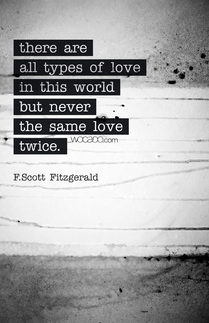 All Types of Love - Quote Poster by WOCADO